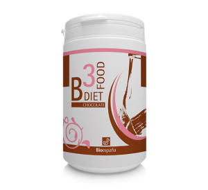 Bote del nutricosmético B3 Diet Food Chocolate