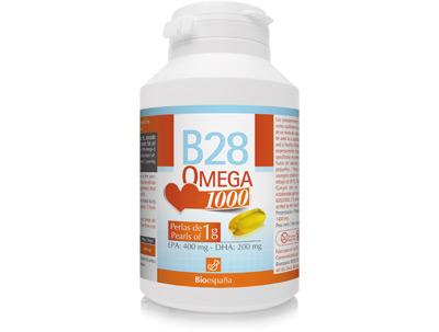 Bote nutricosmético B28 Omega 1000
